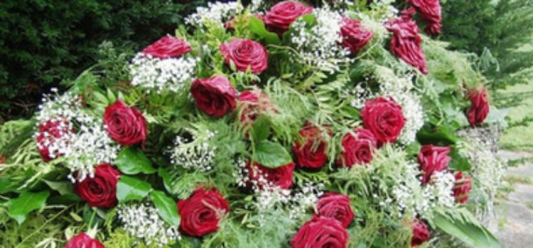 order flowers for a funeral to show your sympathy
